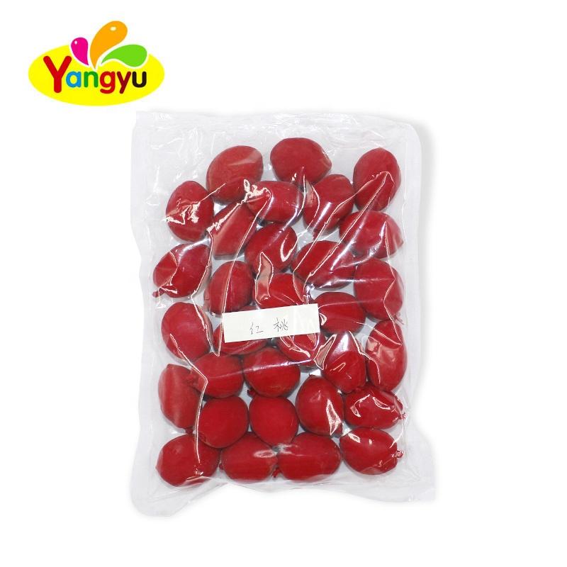 Халяльные консервированные фрукты, сушеные фрукты, Красный Сладкий персик