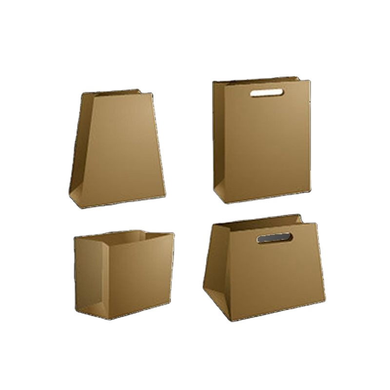 Top Quality Brown White Kraft Paper With Foil Inner Bag For Fast Hot Food Packaging