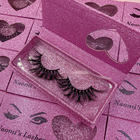 Ceate your own brand private label eyelash box 3d mink lash free 25mm false eyelashes samples custom bling lashes box vendor