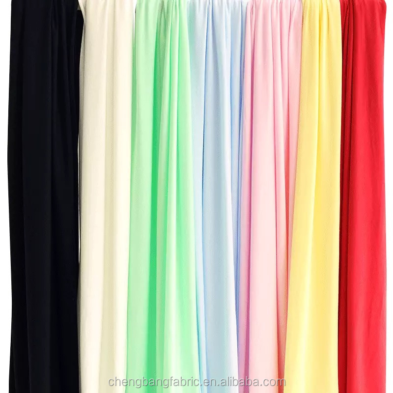 Plain Dyed and 95% Lenzing Modal Material 5% Spandex Single Jersey Fabric for Baby's Garments