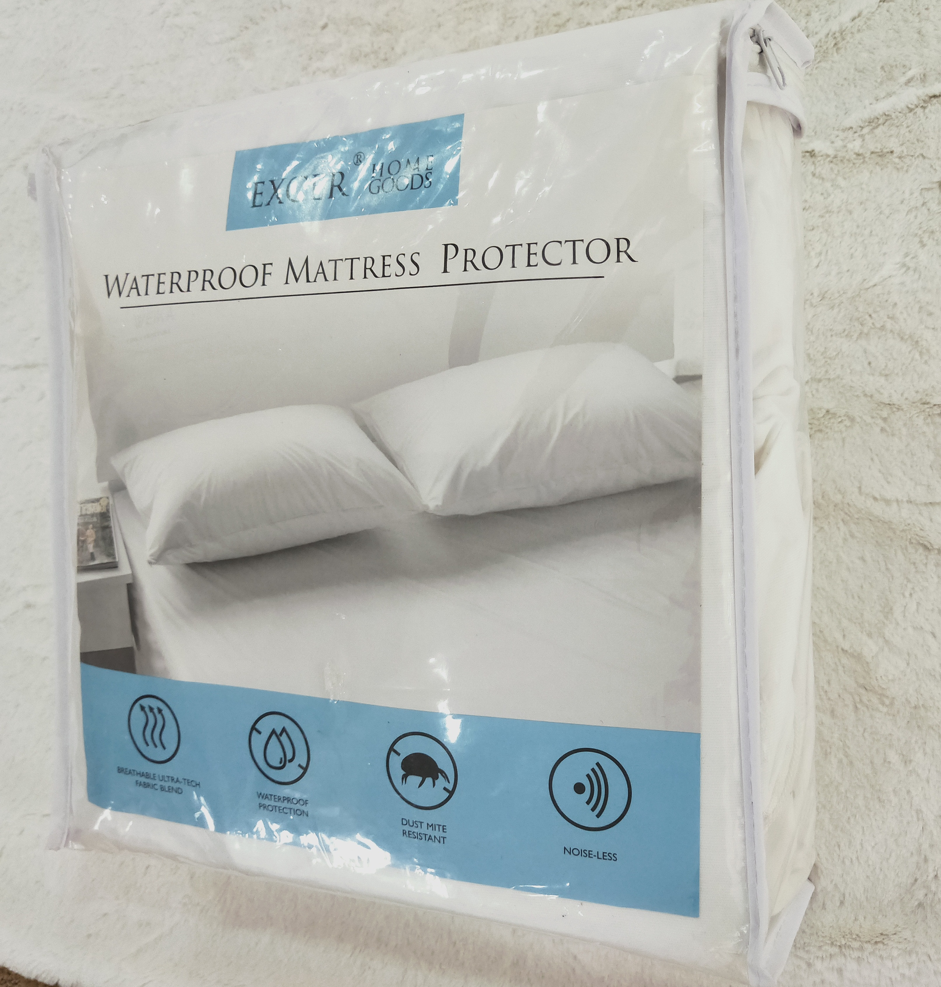 Натяжная простыня из 100% хлопка с махровой тканью для постельного белья, чехол для матраса, водонепроницаемый протектор матраса
