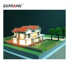 Building model of customized real estate villa is suitable for construction design 3d villa design