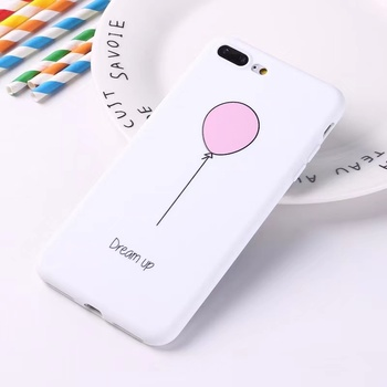 For iPhone 5 5s 6 6s 7 8 Plus X XS Max 11 Pro Max 11 Pro 12 Mini 12 Pro Max Case Cute Balloon Pattern Back Cover
