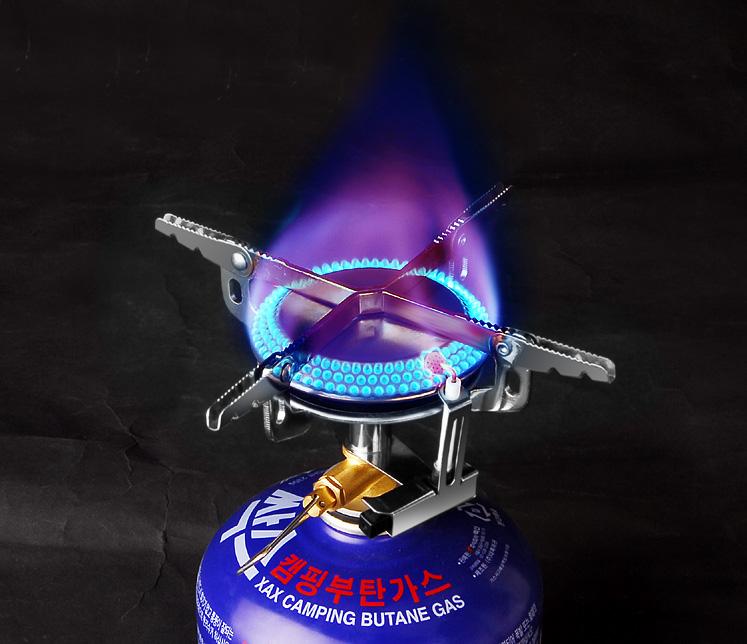 Bulin BL100-B8 propane camping stove stove wood camping camping stove board 3 sides splatter shield