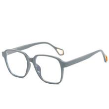 Синий светильник, блокирующие очки, прозрачные женские и мужские игровые компьютерные очки, очки с защитой от напряжения глаз, квадратные о...(China)