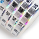 Holographic Custom Hologram Sticker High Quality VOID Sticker Warranty Holographic Packaging Security Label Sticker