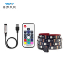 Usb Rgb Usb Rgb Led Strip Smart DC5V USB 1M 2M TV Background Lighting Adhesive Tape IP20 / IP65 Flexible SMD 5050 USB RGB LED Strip