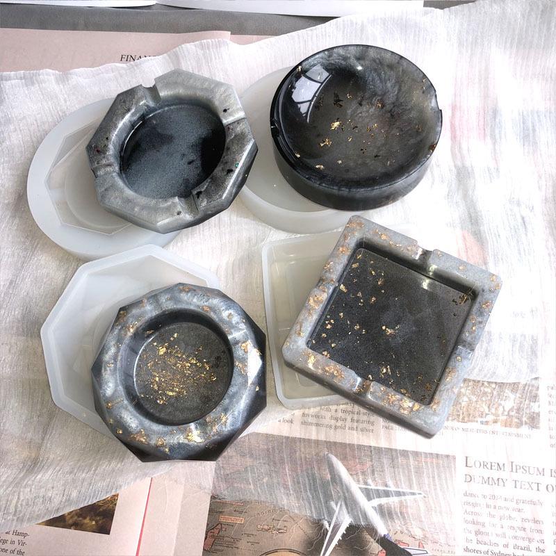 Coaster silicone resin mold