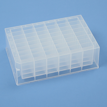 24 48 96 Well Deep Well Plates White Transparent 8 Tube PCR Strips 0.1ml 0.2ml PCR Plate DNASE Free RNASE Free Pyrogen Free