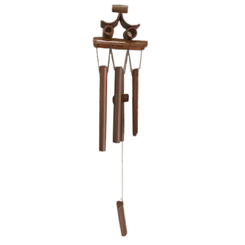 Wood hanging decoration bamboo wind chimes