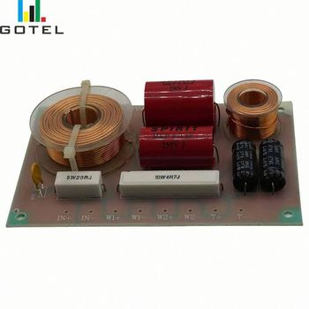 2 way crossover for speakers passive audio frequency divider