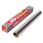 Household Aluminum Foil Food Grade Household Aluminum Foil Roll For Food Storage 30 Cm Catering Aluminum Foil For Bake