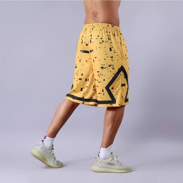 Factory direct custom made sublimation short logo cheap basketball shorts