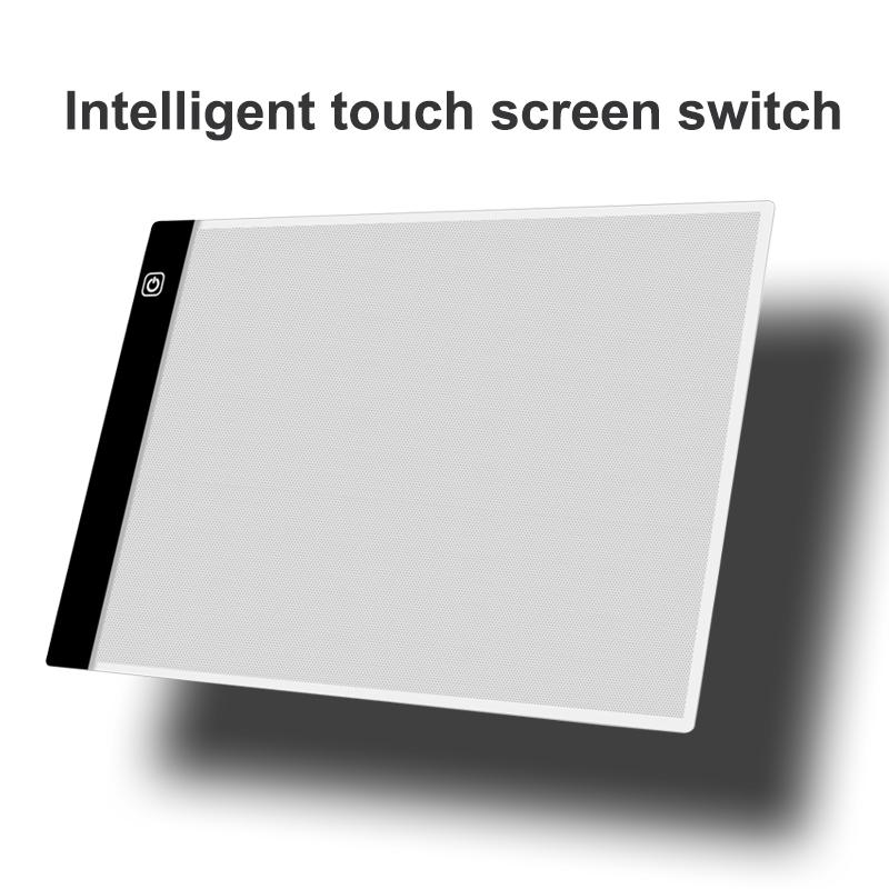 Светодиодная подсветка JSK A2 A3 A4 для рисования, доска для рисования и черчения для анимации