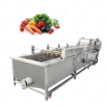 Industrial Lettuce Cleaner Apple Blueberry Cleaning Prickly Pear Washing Machine Fruit and Vegetable High Pressure Washer