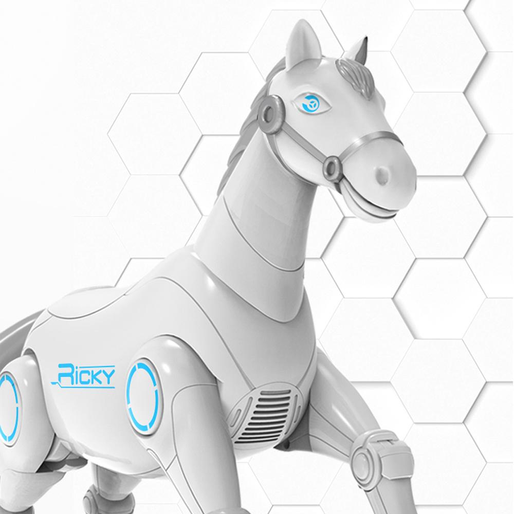 Пульт дистанционного управления, лошадь-животное, Умная игрушка-робот для детей/танцы и пения, умные игрушки на радиоуправлении