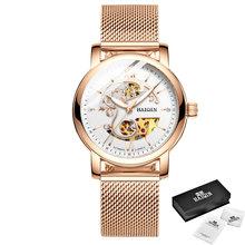 HAIQIN 2019, модные золотые женские механические часы, Топ бренд, роскошные часы, женские наручные часы, подарок для влюбленных, Relogio Feminino, новинка(Китай)