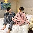 Family Winter Pyjamas Women Eco Friendly Smooth Winter Women Unisex Family Matching Pajamas For Couples
