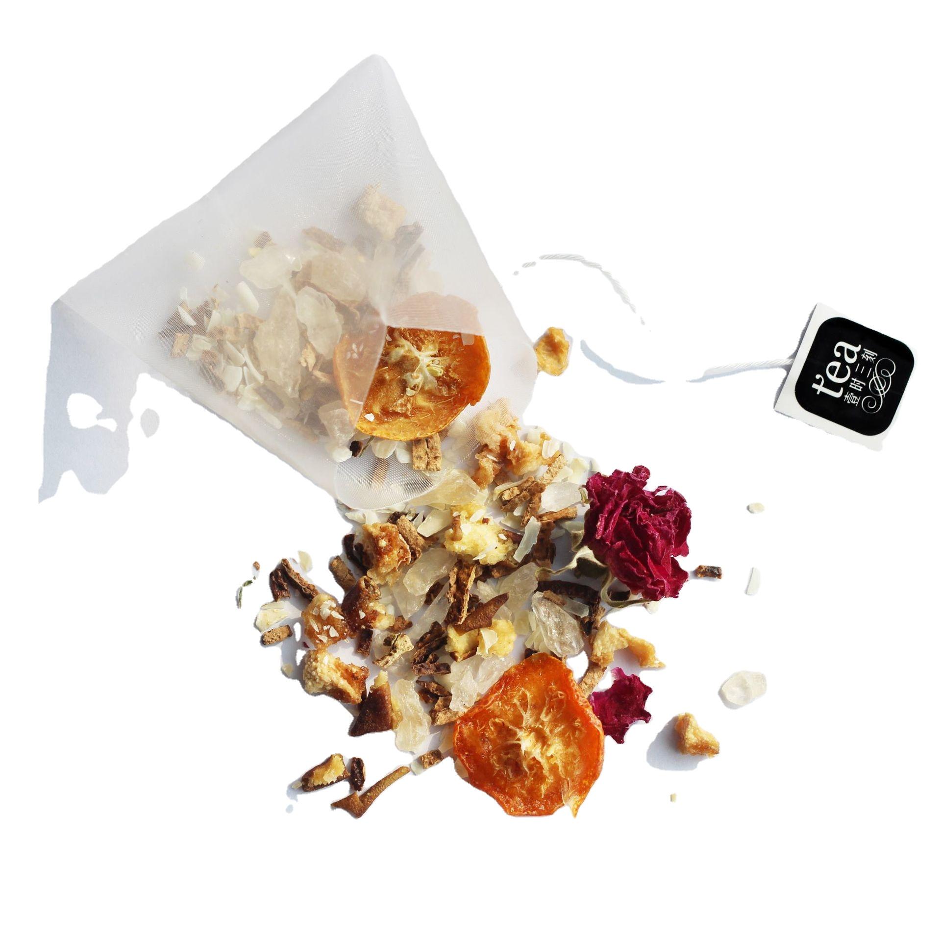 Dried Fruit Flower Herbal Detox Tea Health 100% in Individual Bags with Pyrus Nivalis Kumquat for Heat-clearing Women Flower Tea - 4uTea   4uTea.com