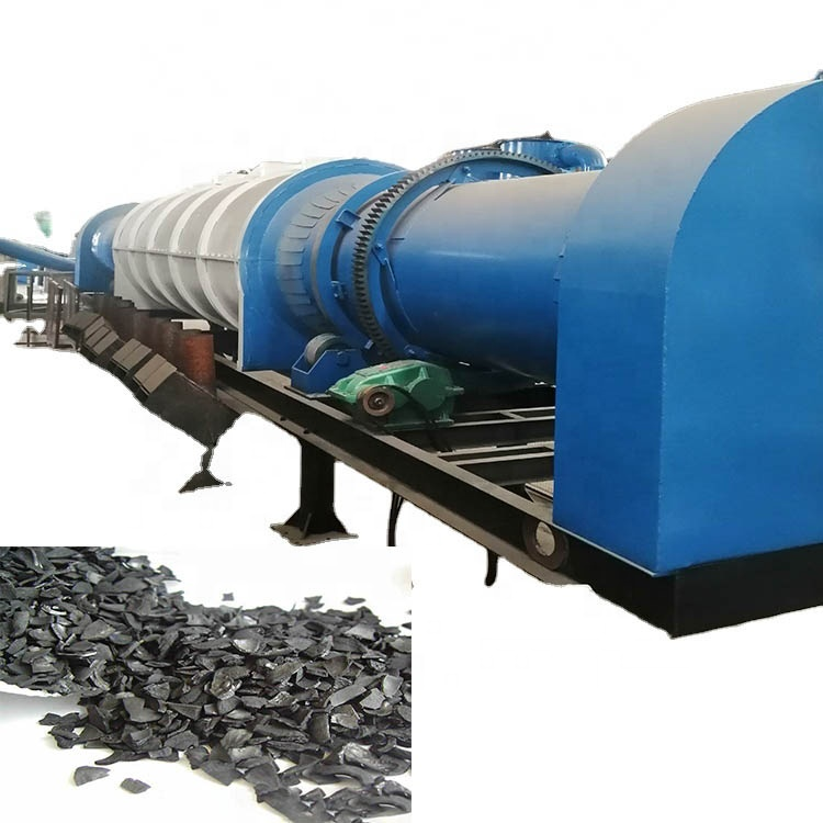 carbon active charcoal 2 ton carbonization for making charcoal