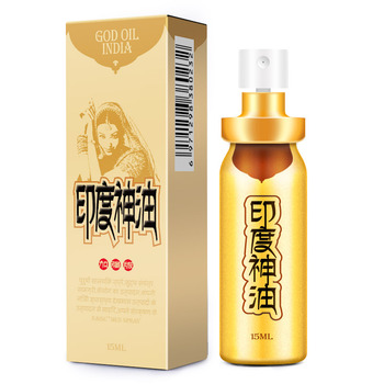 Indian God Oil Delayed Spray Male Delayed Spray Adult Sex Toys 15ml