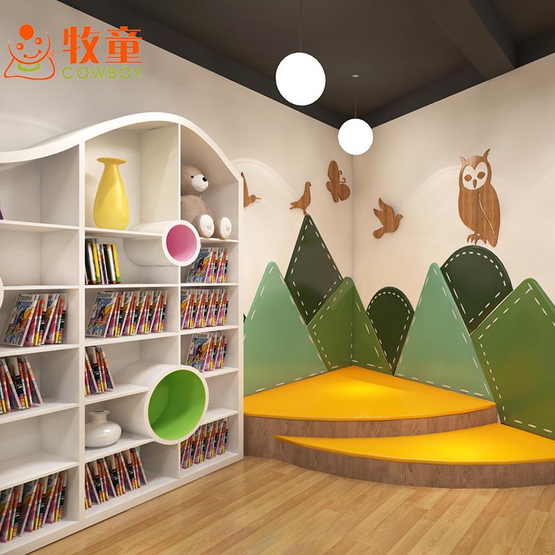 Daycare center wood kindergarten children nursery school furniture for sale