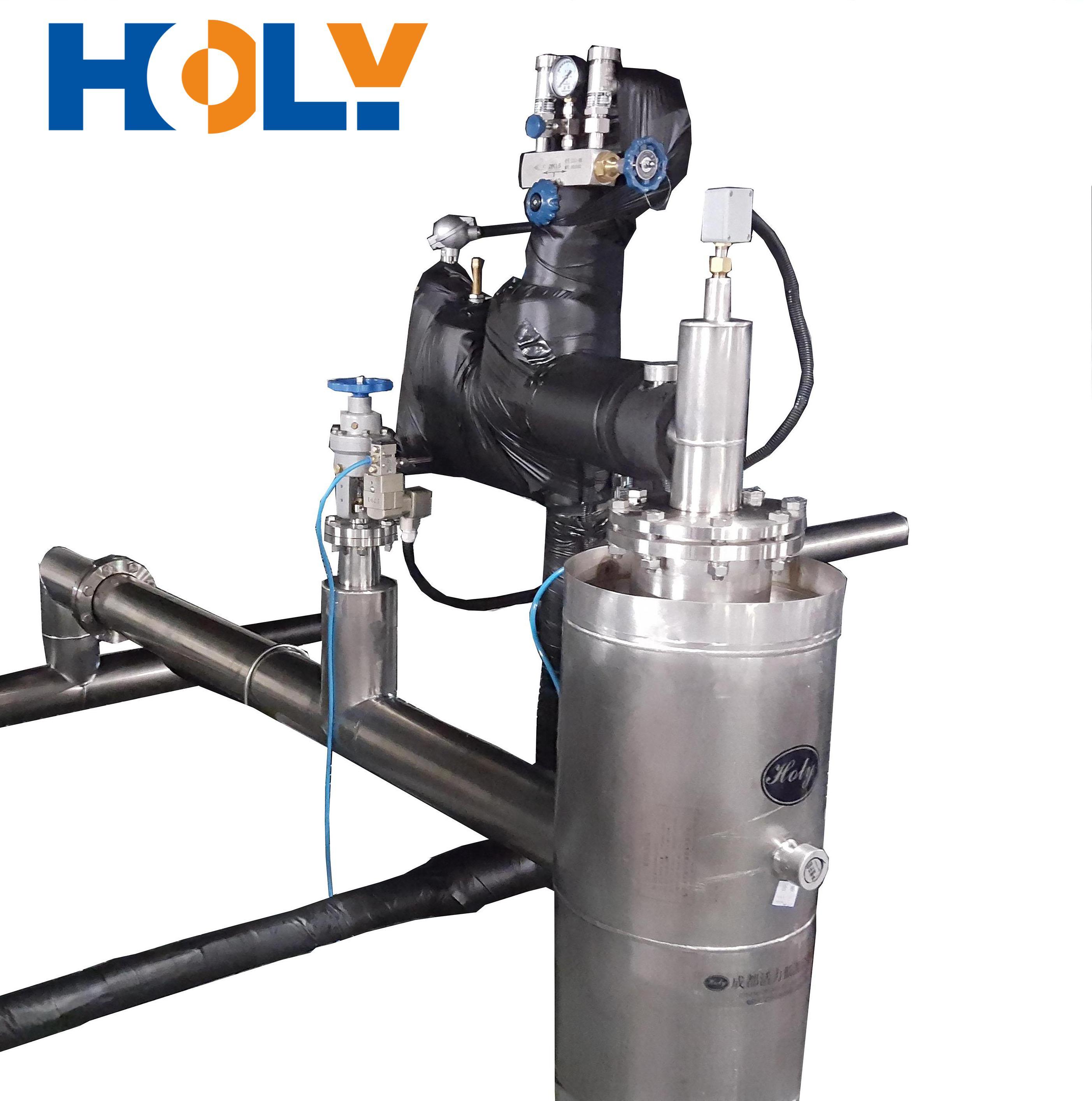 Pressure Regulating Phase Separator of Vacuum Jacketed pipe System for Liquid Nitrogen