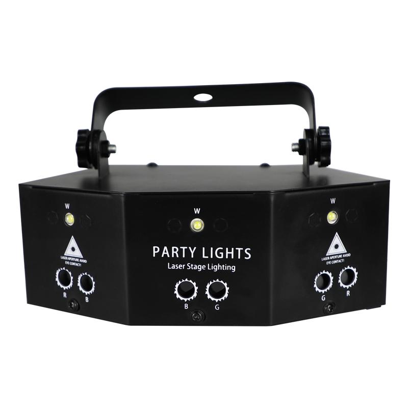 Светильники следить за ритмом музыки чешское стекло диско шар лазерные DJ Led Свет этапа лазерный проектор