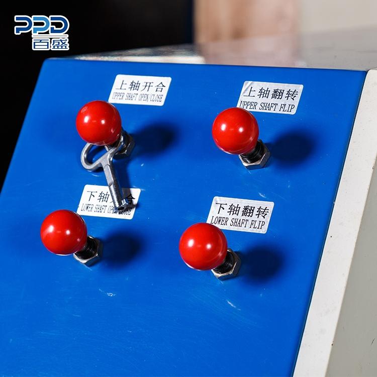Автоматическая электрическая машина с 4 валами для перемотки и резки стрейч-пленки