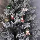 Black Decorations Decoration Wholesale Black Red Star Tree Hanging Wooden Ornaments For Christmas Custom Decorations