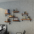 home living room industrial book rack bookshelf antique bookcase corner metal iron diy pipe floating mounted wall shelf