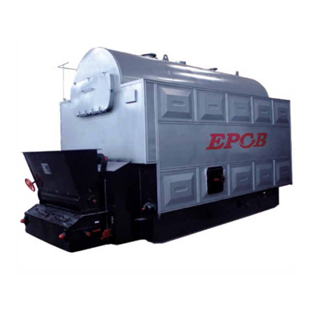 EPCB Best Sale 2 Ton Coal Fired Steam Boiler Biomass Steam Boiler Used In Paper Industry
