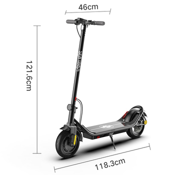 EU stock us warehouse free shipping 2021 hot selling new 10 inch 350W 10ah cheap electric scooter drop shipping