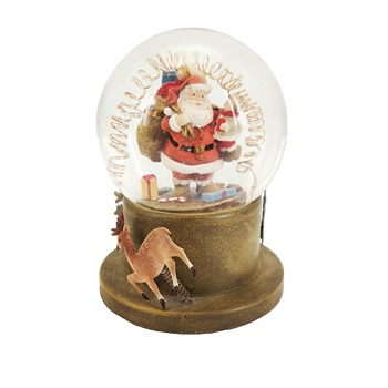 Resin Crafts Christmas water balls 100 mm snow globes for souvenir gifts