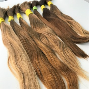 Original bundles russian bulk braiding human hair for extensions or wigs manufacturers