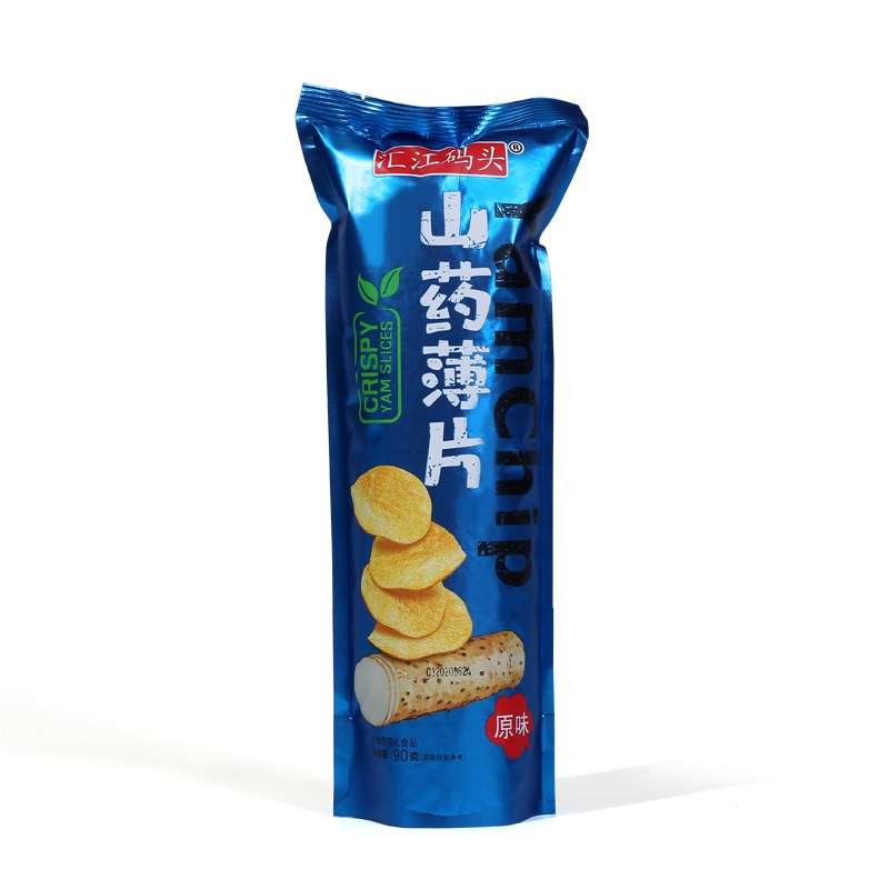 Wholesale Chinese Snacks Yam Crisp Chips Delicious Crispy Chips filled Packaging