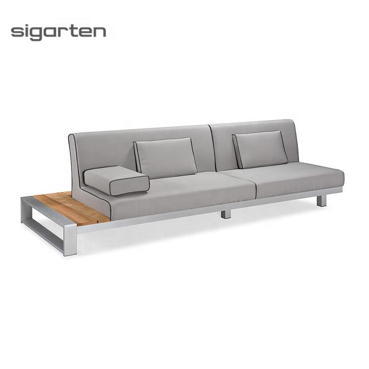 Роскошный диван для внутреннего дворика 2021 года для экстремального комфорта, современный курортный диван, комплект для отдыха на открытом воздухе