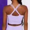 Purple bra