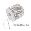 crystal AB+ Silver Base