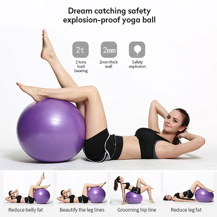 Мяч для йоги утолщенной взрывозащищенные фитнес-мяч ребенок Сенсорное обучение интеграции беременным женщинам удельный вес потеря мяч
