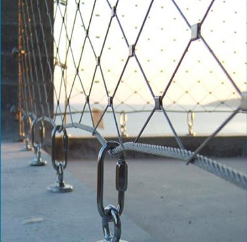 Гибкая кабельная сетка из нержавеющей стали 304. Сетка из нержавеющей стали для зоопарка