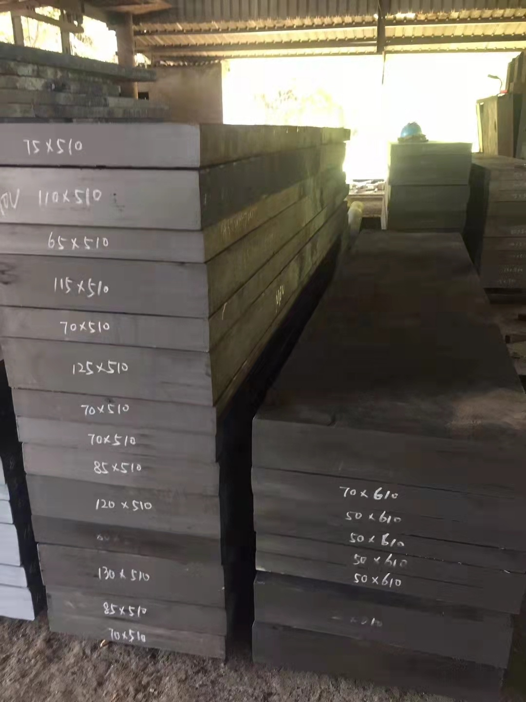 Alloy TOOl steel P20+Ni   Pre hardened Forged Die Steel For Plastic Mould