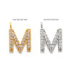 M(gold or rhodium plated)
