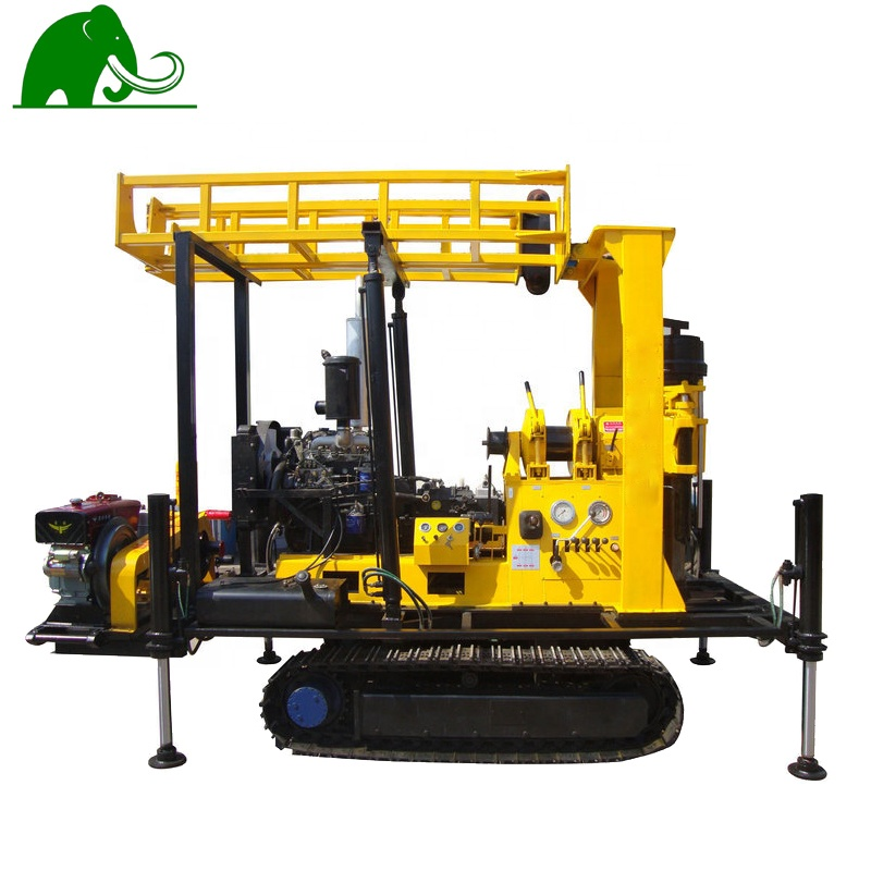 200 meters ground borehole water well drilling machine