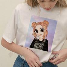 Hovrror кукла Готический Лето мягкая девушка E девушка наряд эстетический стиль футболка Графический Harajuku футболки для женщин корейский стиль ...(Китай)