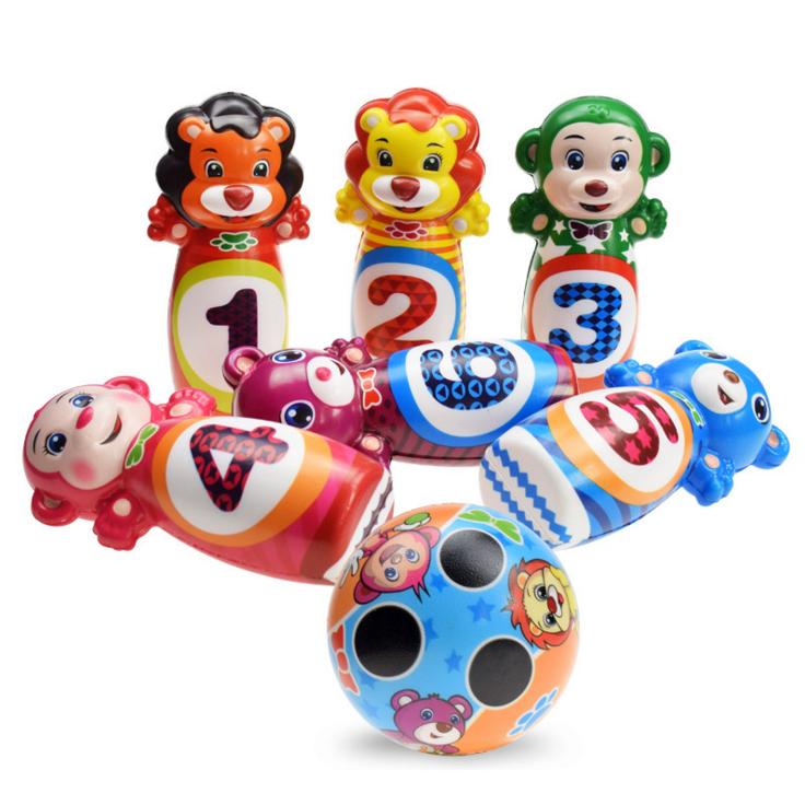 Детский обучающий домашний боулинг для детей и родителей детские спортивные детские уличные игрушки для боулинга