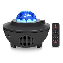 Звездное небо океан волна проектор свет СИД цветное небо проектор галактика музыкальный плеер дистанционное управление диско лампа Декор ...(Китай)