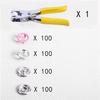 100 sets pink + tool