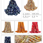 Pattern Scarf Womens Scarfs And Wraps Womens Chiffon Dragonfly Pattern Silk Feeling Long Scarf Satin Neck Scarves Head Hair Wraps