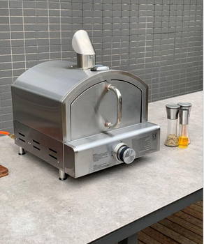 Large Stainless Steel portable Table Top Gas outdoor Pizza Oven